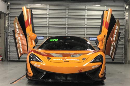 マクラーレン McLaren 570S G 4  ファーストレーシング